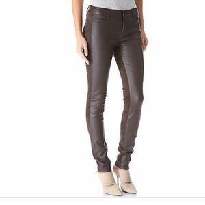 Vince Jeans - NWOT VINCE Suede & Leather Stretch Skinny Jeans